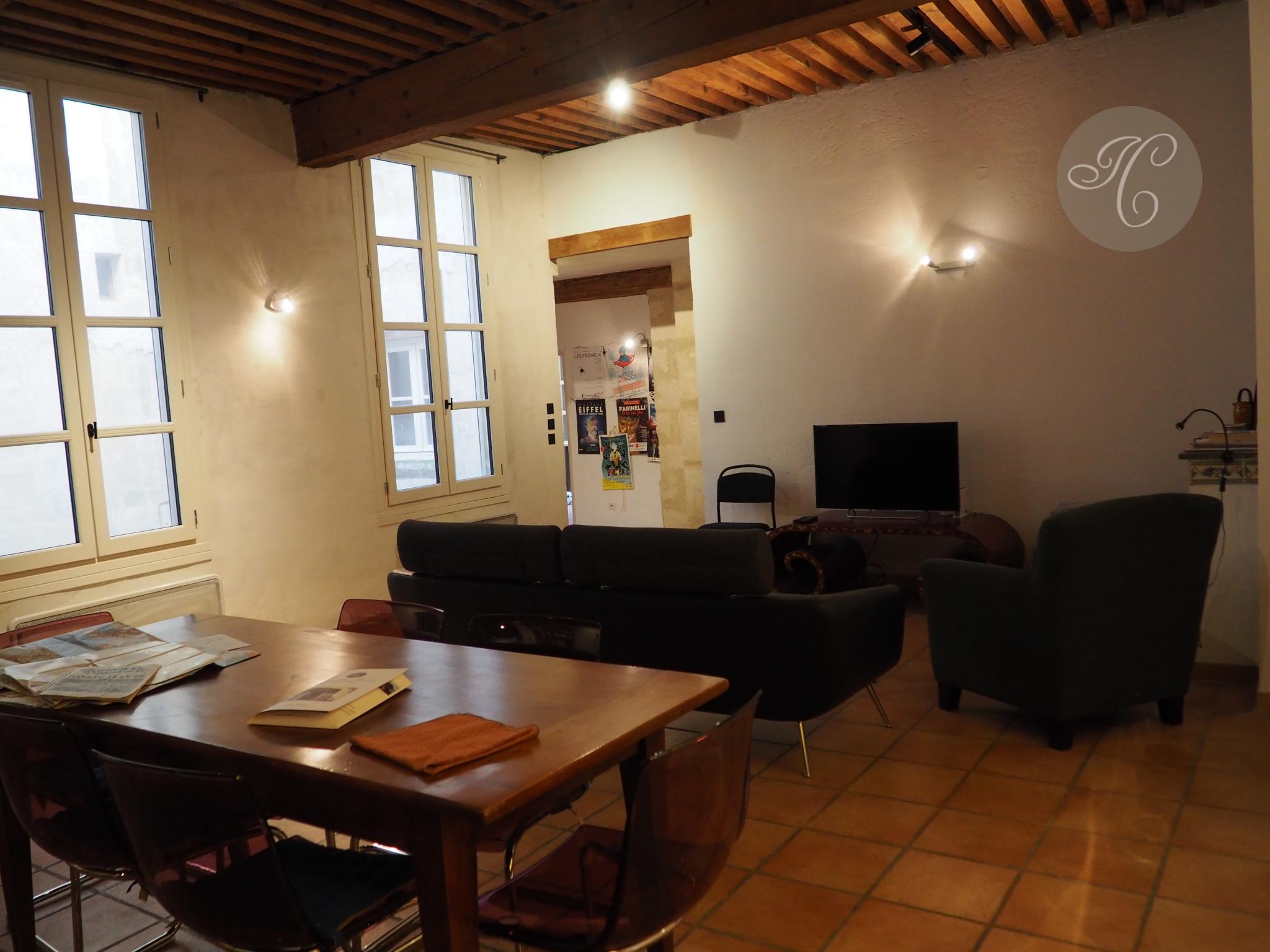 SALON de 50 m2 avec cheminée
